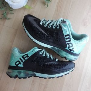 Nike Air Max Excellerate 2 Black Teal Mint Run 7